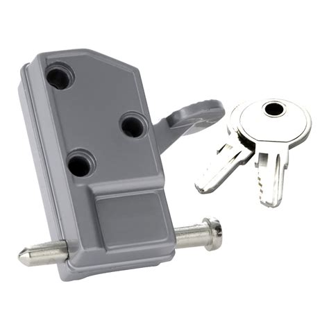 keyed patio door lock security