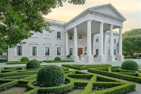 Unknown Palatial House by Palatial Dallas White House Reduced To 15 Million