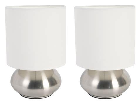 New Versailles Pack Lamp Set Table Bedroom Bedside White