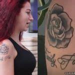 danielle bregoli dots finger tattoo steal  style