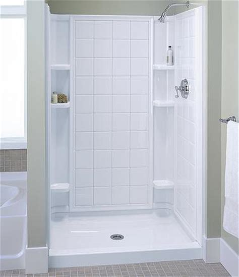 How To Re Caulk A Shower Door by How Can You Install A Shower Stall Bath Decors