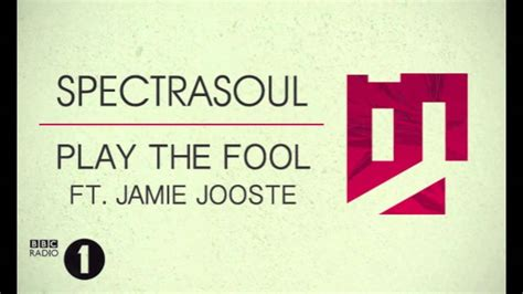 Play The Fool (ft. Jamie Jooste