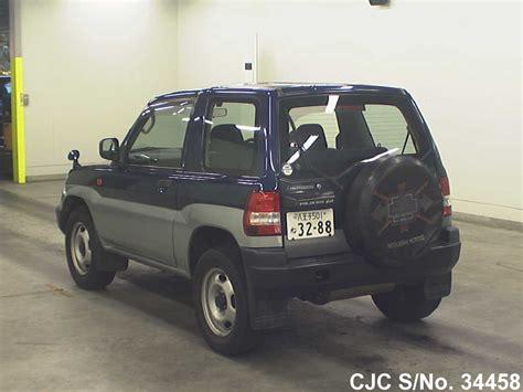 mitsubishi pajero io 1998 mitsubishi pajero io blue for sale stock no 34458
