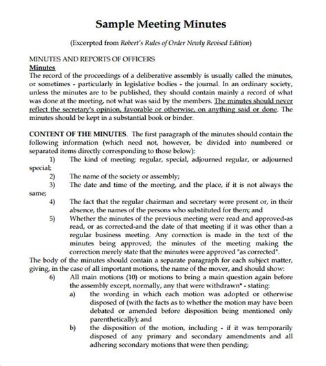 meeting recap template 8 meeting summary templates for free sle templates