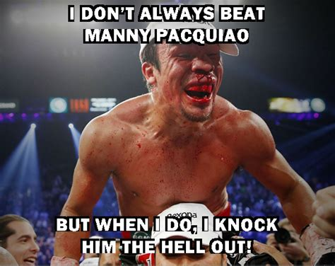 Manny Pacquiao Meme - pacquiao marquez meme juan manuel marquez is the most interesting man in the world proboxing