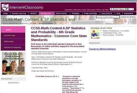 ccssmathcontentsp statistics  probability  grade