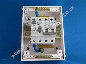 Needs Electrical Online Europa Components Ip55 2 Way Garage Consumer Unit 63a Rcd Grg32e