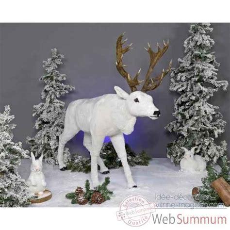 automate renne blanc automate d 233 coration no 235 l 814 dans automate animaux de automate