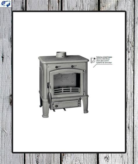 estufa de lena ferlux  cocina pequena comercial prados