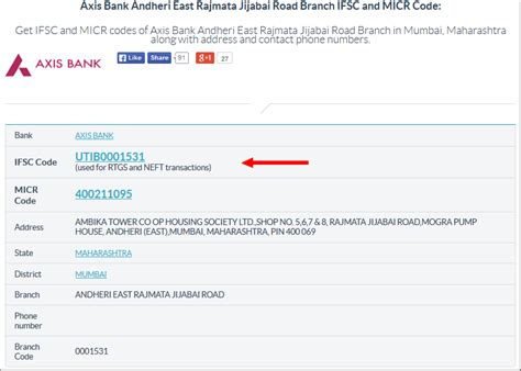 Get Axis Bank Ifsc Code For Neft Rtgs Ecs