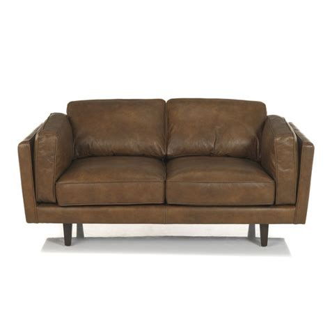 alinea canap cuir 17 meilleures idées à propos de canapé cuir 2 places sur