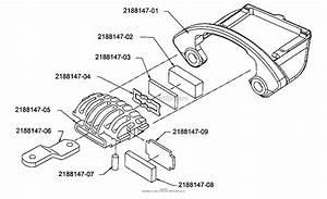 Bunton  Bobcat  Ryan 942224  61 Side Discharge Parts Diagram For Brake
