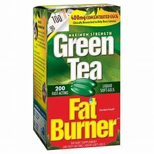 Green Tea Fat Burner  200 Liquid Soft