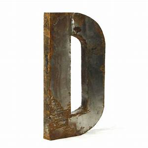 Zentique large metal letters metal letter a for Large tin letters