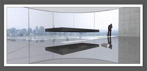 un lit en suspension dans l air