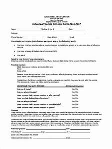 8 vaccine consent forms free sample example format With vaccination consent form template