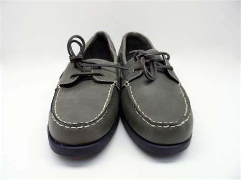 Sonoma Boat Shoes by Sonoma S Boat Shoes Charcoal Size 10 5 Nwob