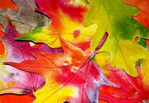 Watercolor Fall Leaf Art Projects for Kids