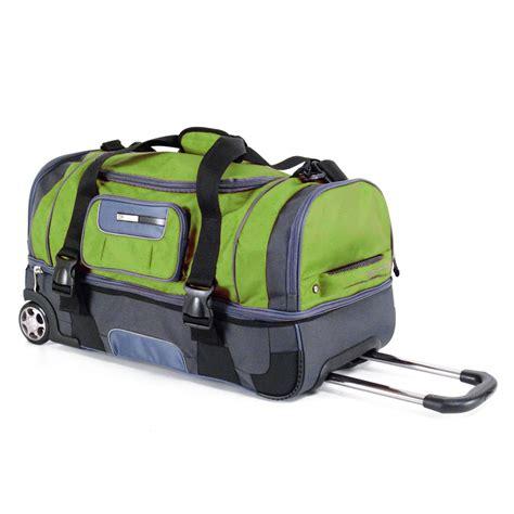 calpak adf adf nitro    section rolling wheeled duffel bag