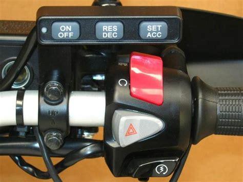 Motorcycle Electronic Cruise Control