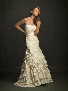 a line silhouette unique wedding dresses ivory strapless With ivory dresses for wedding