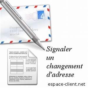Modèle Changement D Adresse : changement d 39 adresse signaler ma nouvelle adresse ~ Gottalentnigeria.com Avis de Voitures