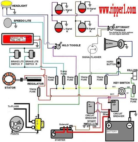 wiring diagram  accessory ignition  start