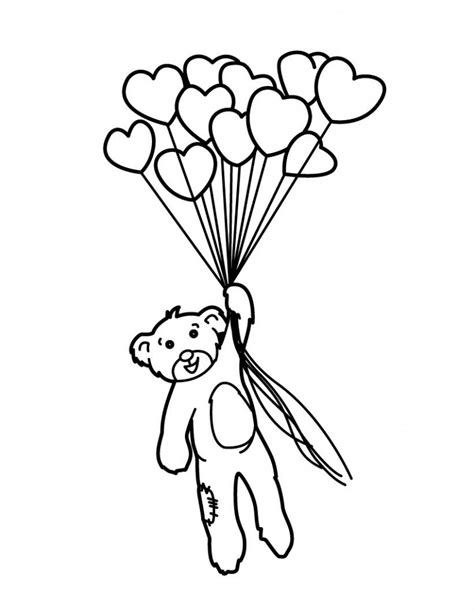 balloon coloring pages  coloring pages  kids
