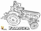 Tractor Coloring Pages Farmer Farm Tractors Sheets Man Working Print John Farmers Deere Dogs Earthy Yescoloring Printables Colorful Gritty Books sketch template
