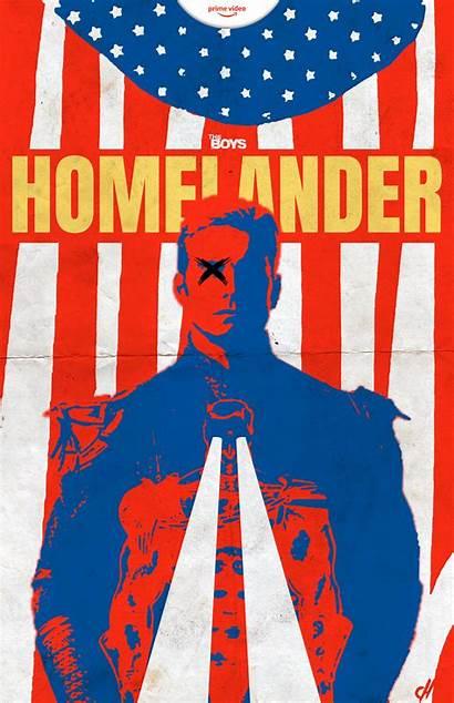 Homelander Poster Tv Theboys