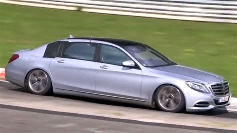 Mercedes S-class Maybach Spotted On The 'ring?