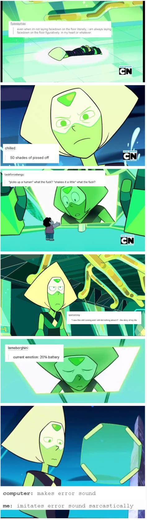 Steven Universe Peridot Memes - the life of peridot steven universe know your meme
