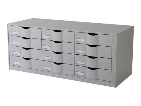 bloc de classement bureau paperflow bloc de classement à tiroirs 12 tiroirs 24