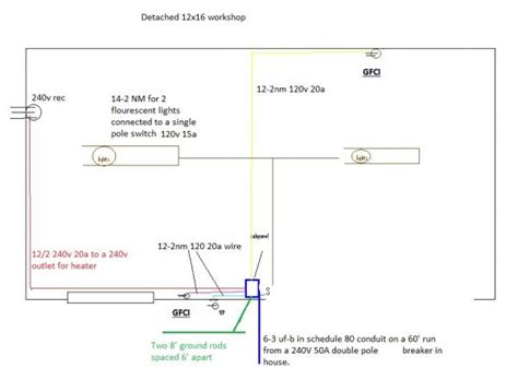 Shed Wiring Plans Diagram Will This Work