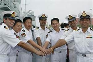 Indian Navy officers