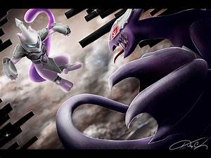 Armored Mewtwo Vs. Shadow Lugia by RyuuHana24 on DeviantArt