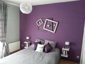 Chambre Mauve Gris by Deco Salon Violet