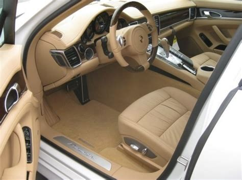 siege cuir codes options sièges cuir panamera 4s stuttgart