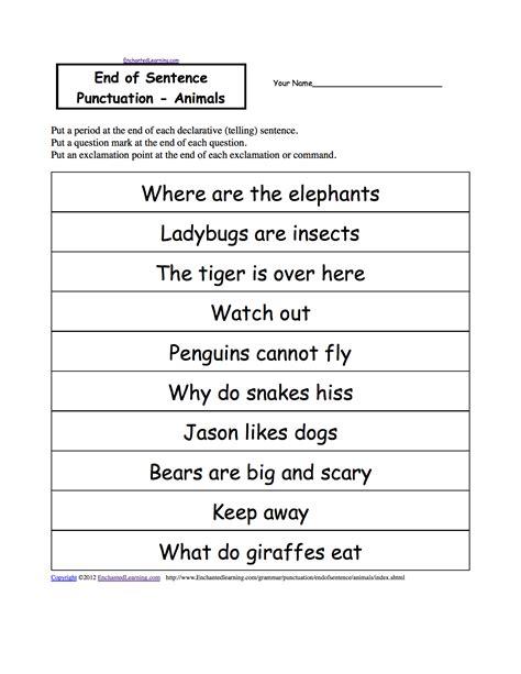 exclamatory sentence worksheets abitlikethis