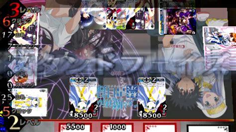 Farbklecks Schwarz Weiß by Weiss Schwarz Portable Boost Weiss Psp Gameplay Part 2