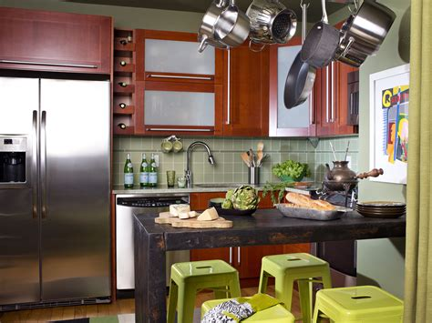 small space kitchen ideas small kitchen design ideas pictures hgtv