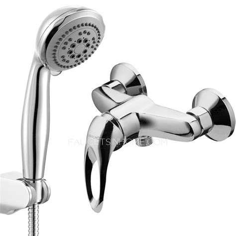 classic single handle hose  wall mounted shower faucet