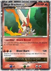 Pokémon Mega Blaziken 36 36 - Blaze Boost - My Pokemon Card