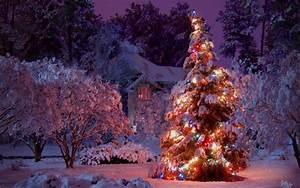 Christmas, Winter, Scenes, Wallpaper, U00b7, U2460, Wallpapertag
