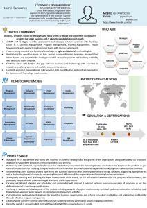 leadership sr management  level  suite resume