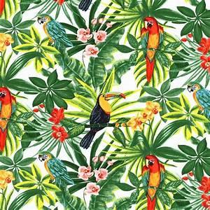 Tissu Imprimé Tropical : tissu bachette exotique tissus maison mondial tissus interior design pinterest ~ Teatrodelosmanantiales.com Idées de Décoration