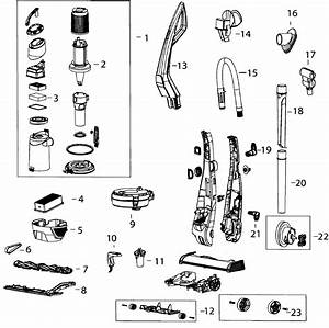 Bissell Vacuum Parts Diagram