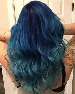 Blaue Haare Ombre : die besten 25 blaues ombre haar ideen auf pinterest ombr haare f rben tolle haare und ~ Frokenaadalensverden.com Haus und Dekorationen