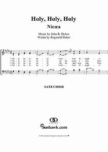 Holy, Holy, Holy Sheet Music - Music for Piano and More ...