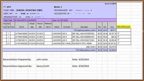 payroll reconciliation template simple salary slip
